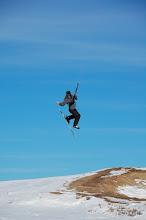 Photo: where's my darn ski?