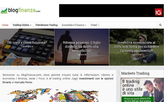 Blogfinanza.com - Forex & Opzioni Binarie