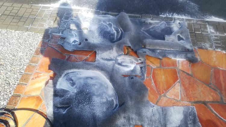 ハイエース TRH112Vの100系ハイエース,カーペット清掃,デッドニングに関するカスタム&メンテナンスの投稿画像3枚目