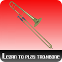 Learn to play the trombone icon
