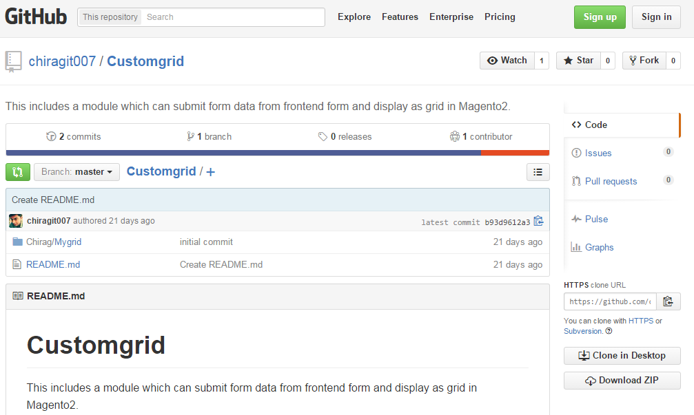 Customgrid Magento 2 module