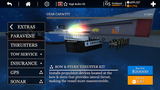 uCaptain- Sea Fishing Ship Simulator 4.53 screenshots 2
