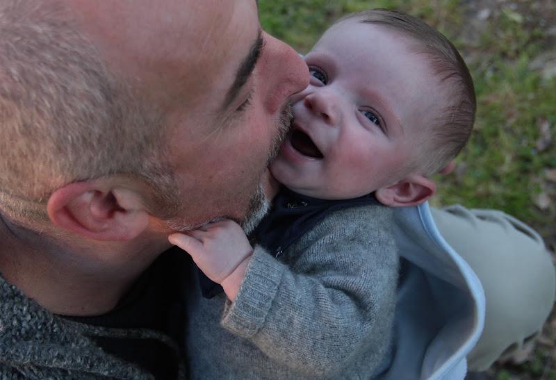 il bacio di papà di laudano