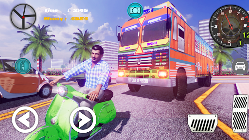 Indian Truck ( Lorry ) Driver 1.0 screenshots 5
