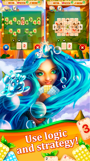 Little Tittle — Pyramid solitaire card game ss1