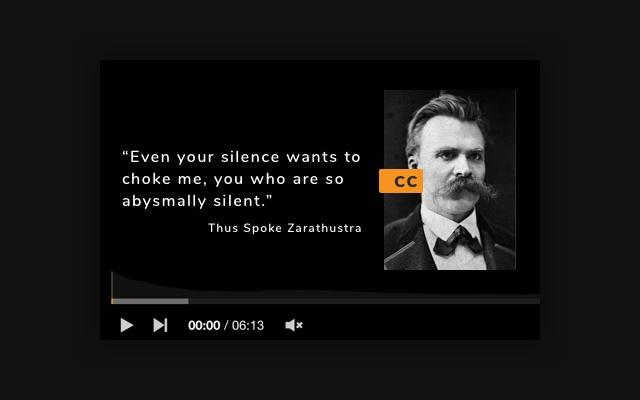 CC to Nietzsche