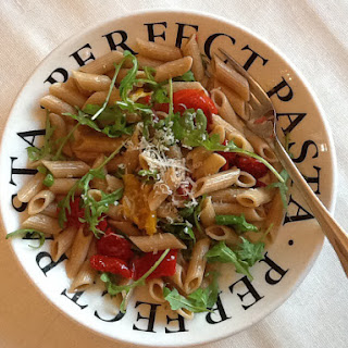 Tomato, Pepper and Rocket Penne Pasta