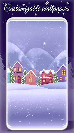 Live Snow Falling Wallpaper screenshots 3