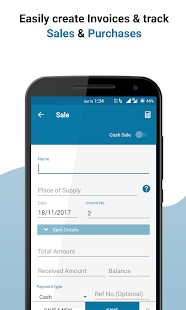 Vyapar - GST Invoicing, Accounting & Inventory app Screenshot