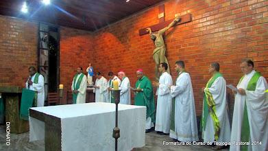 Photo: Formatura da Turma de Teologia Pastoral 2014 - 1º Semestre e visita do Bispo Antônio Carlos Cruz Santos (Dom Maristelo)