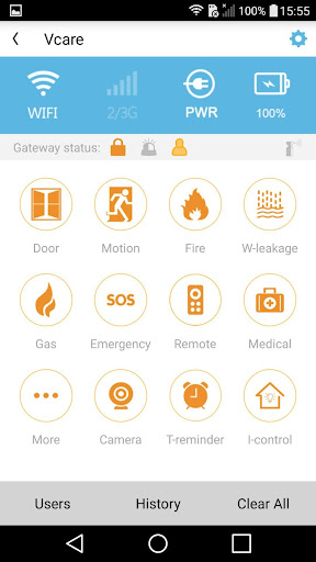 iCare Alarm US screenshots 2