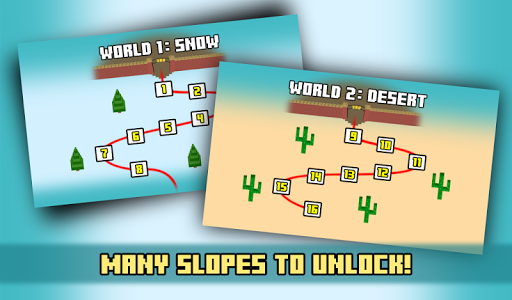 Zoo Skiing - Crossy Slopes! screenshot 3