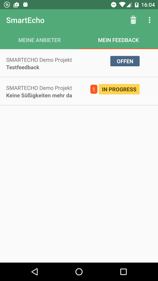 SmartEcho- screenshot