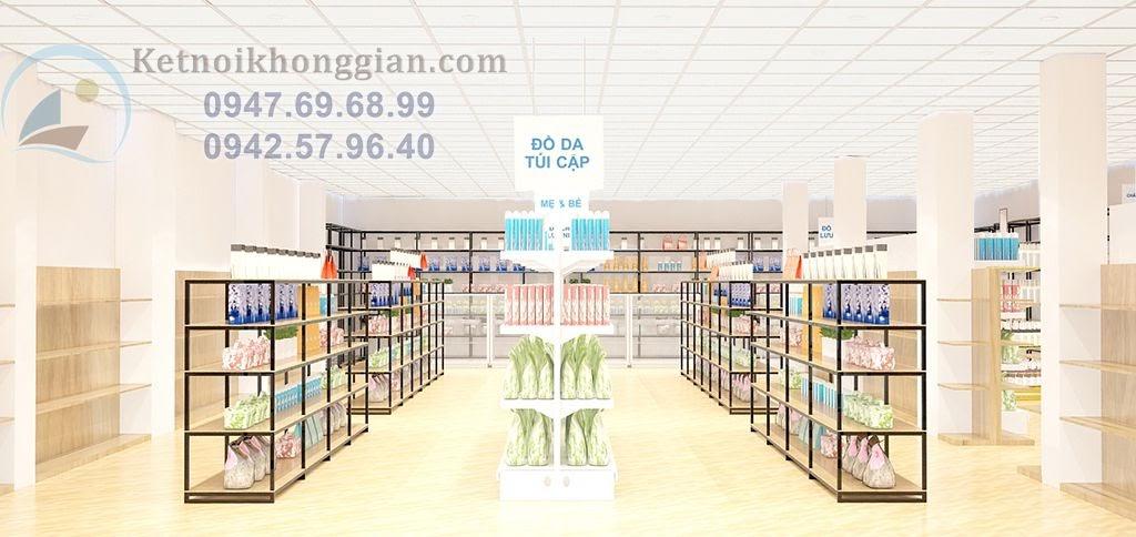 phương thúy thiết kế siêu thị mini hoàn hảo tại yên bái