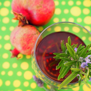 Pomegranate Iced Tea Gin Cocktail