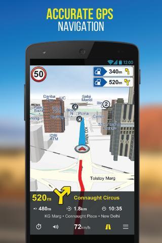 NaviMaps: 3D GPS Navigation 3.0.3 Screenshots 1