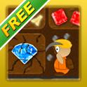Treasure Miner - A free mining adventure icon