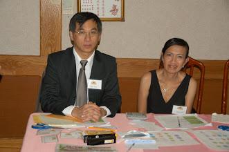 Photo: Vithya Peou & Mrs Sokhanno Mao