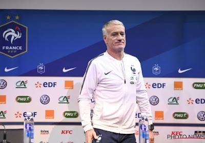 """Deschamps cash : """"J'ai l'impression que vous me parlez d'un joueur qui a été très bon avec l'équipe de France"""""""