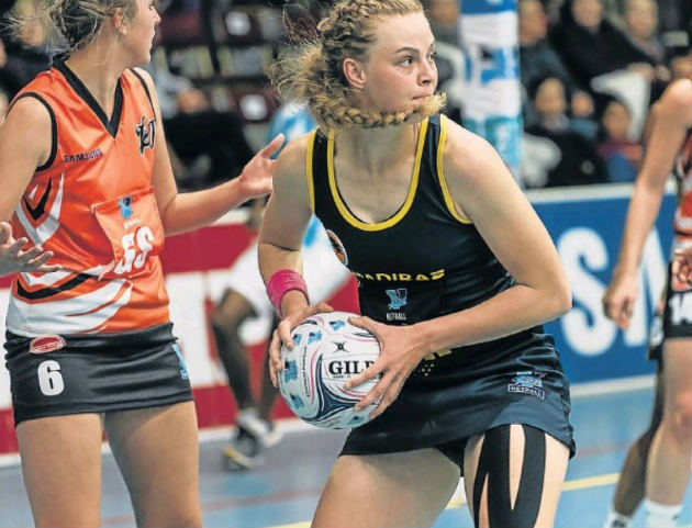 SPAR Madibaz captain Jeanie Steyn has led from the front during their Varsity Netball campaign this season
