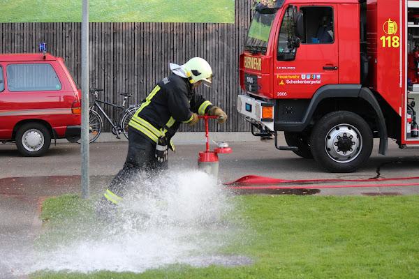 Einsatz der Feuerwehr Schenkenbergertal