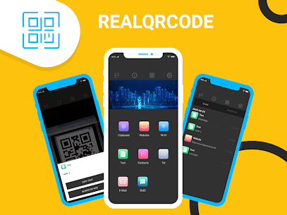 Real QR Code –  Barcode Scanner 1