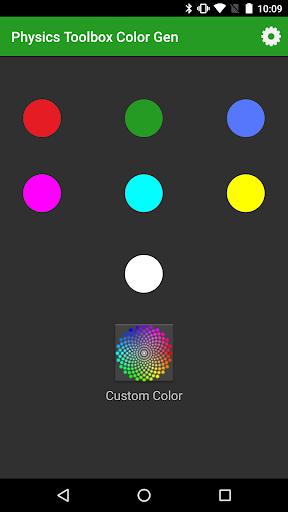 Physics Toolbox Color Gen