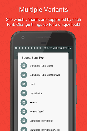 FontFix (Free) 4.4.5.0 screenshots 5