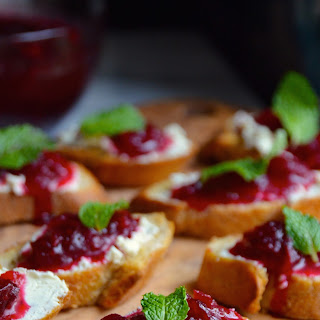 Goat Cheese Crostini Appetizers Recipes