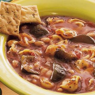 Slow-Cooker Italian Tortellini Stew.
