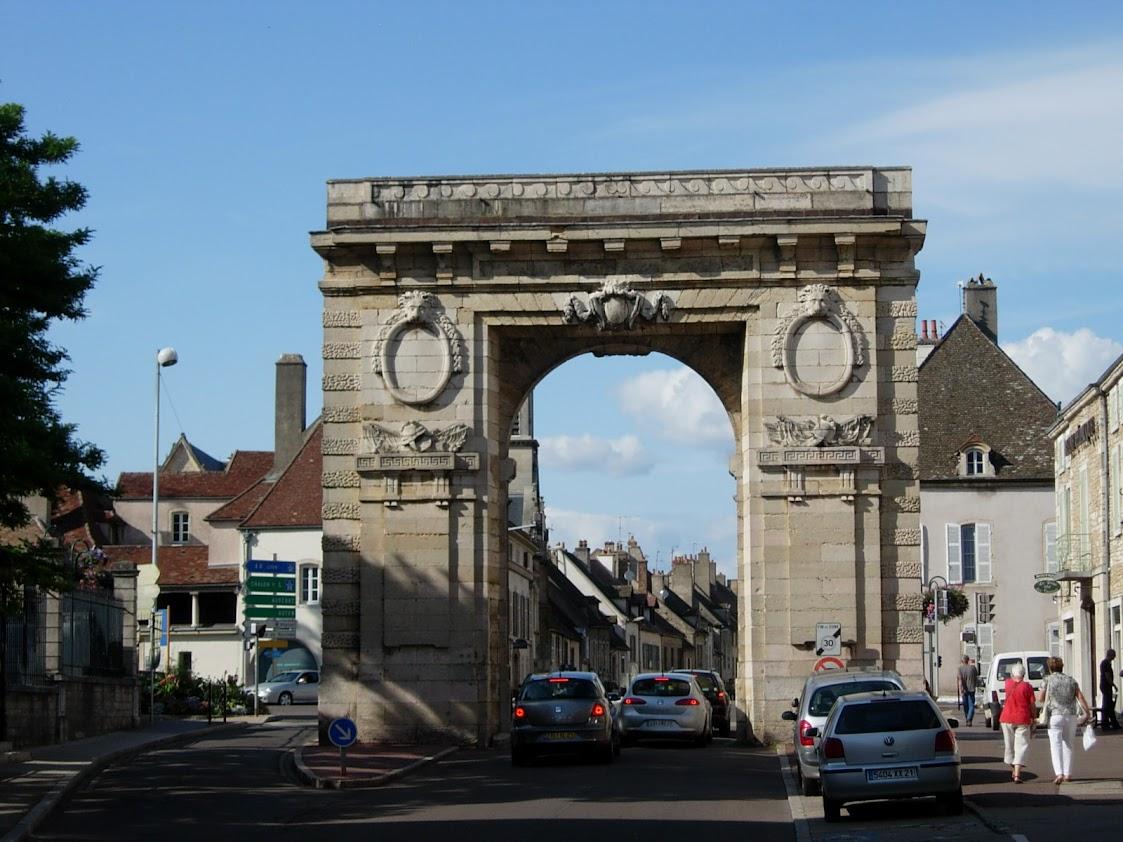 Porte Saint-Nicolas à Beaune