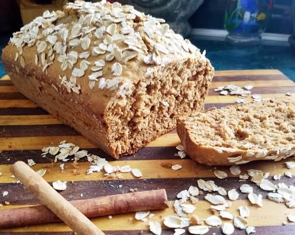 Oatmeal Honey Cinnamon Quick Bread Recipe