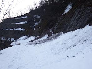 雪が多くスノーシューを履く