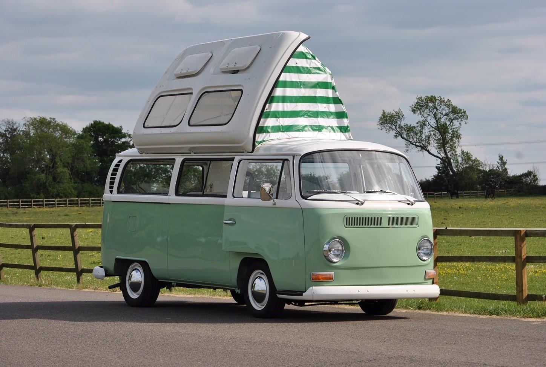Volkswagen Camper Van Hire Burcott