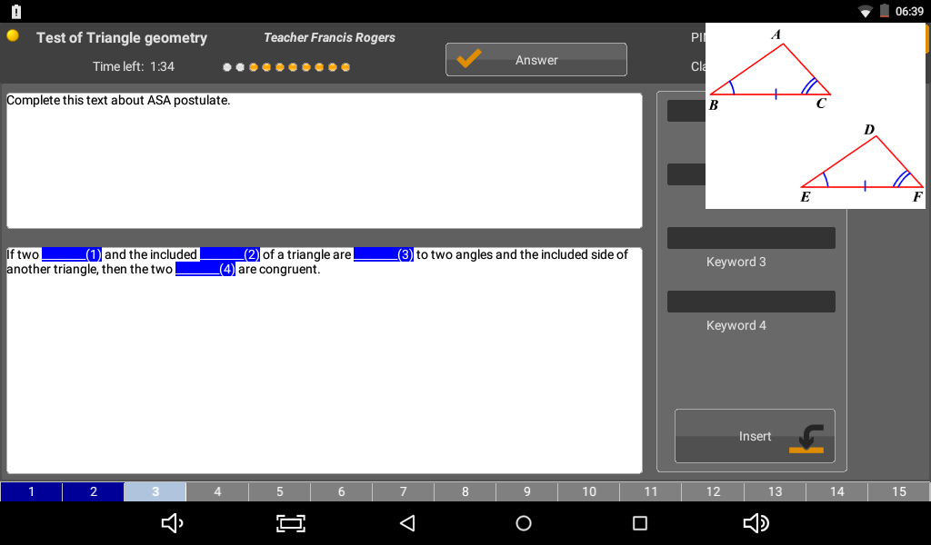 eTutor CLIENT- screenshot