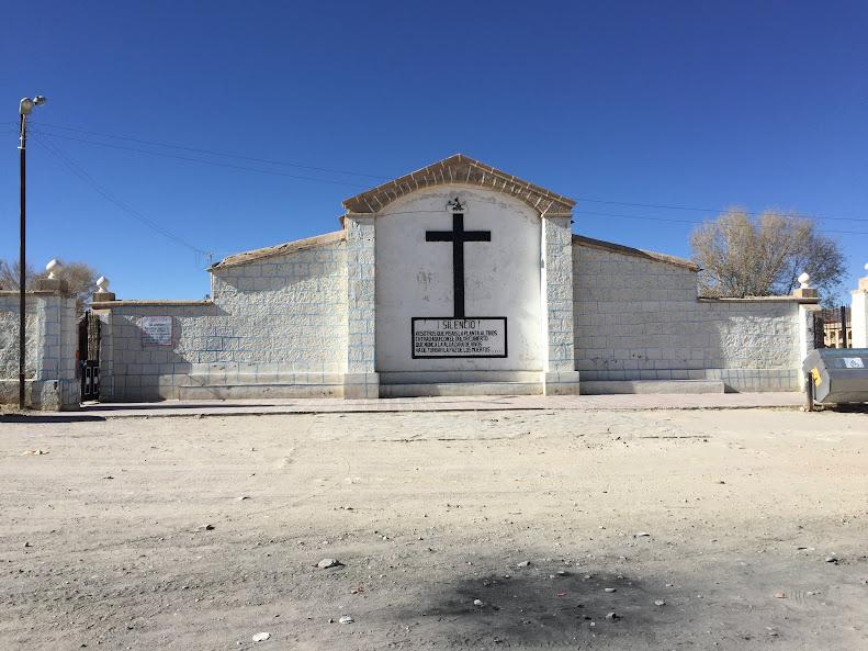 ウユニの街にある教会