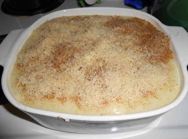 Combine the Parmesan cheese and paprika. Sprinkle over casserole.