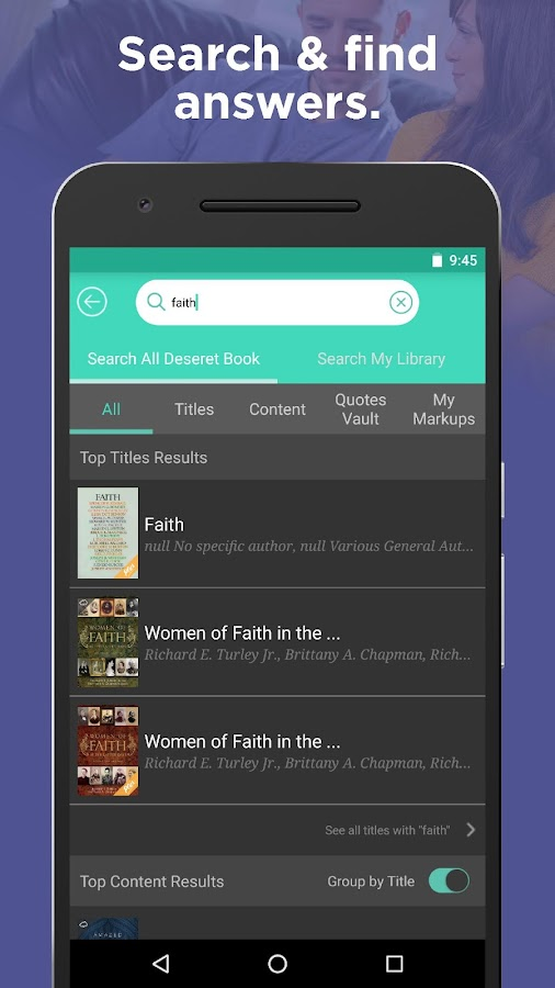 Deseret Bookshelf- screenshot