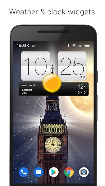 Sense V2 Flip Clock & Weather v5.41.1.2 [Premium]