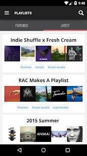 Indie Shuffle - Free New Music- screenshot thumbnail