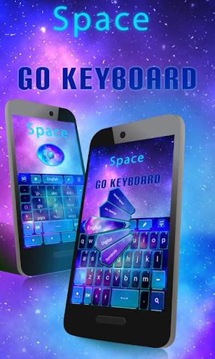 Space GO Keyboard Theme Emoji