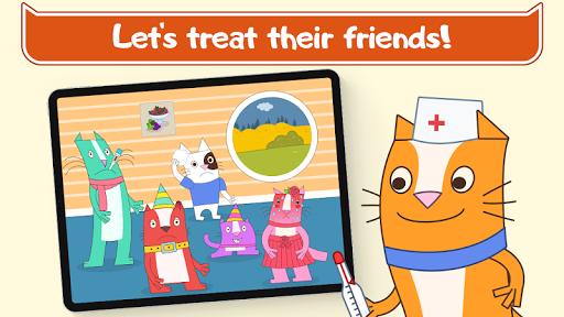 Cats Pets Animal Doctor Games for Kids! Pet doctor  screenshots 2