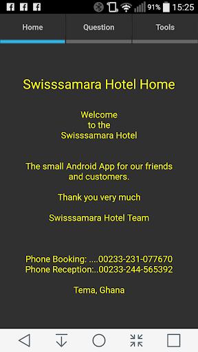 Swisssamara Hotel Tool
