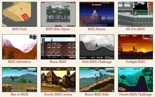 Bmx Games