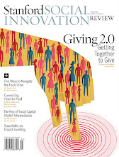 Photo: Print edition of Winter 2012 issue of the Stanford Social Innovation Review.