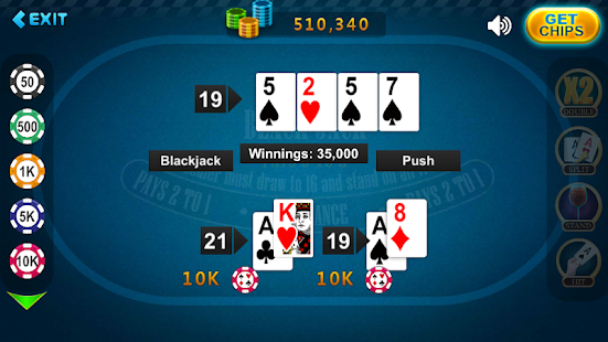 Theoretical hold for blackjack