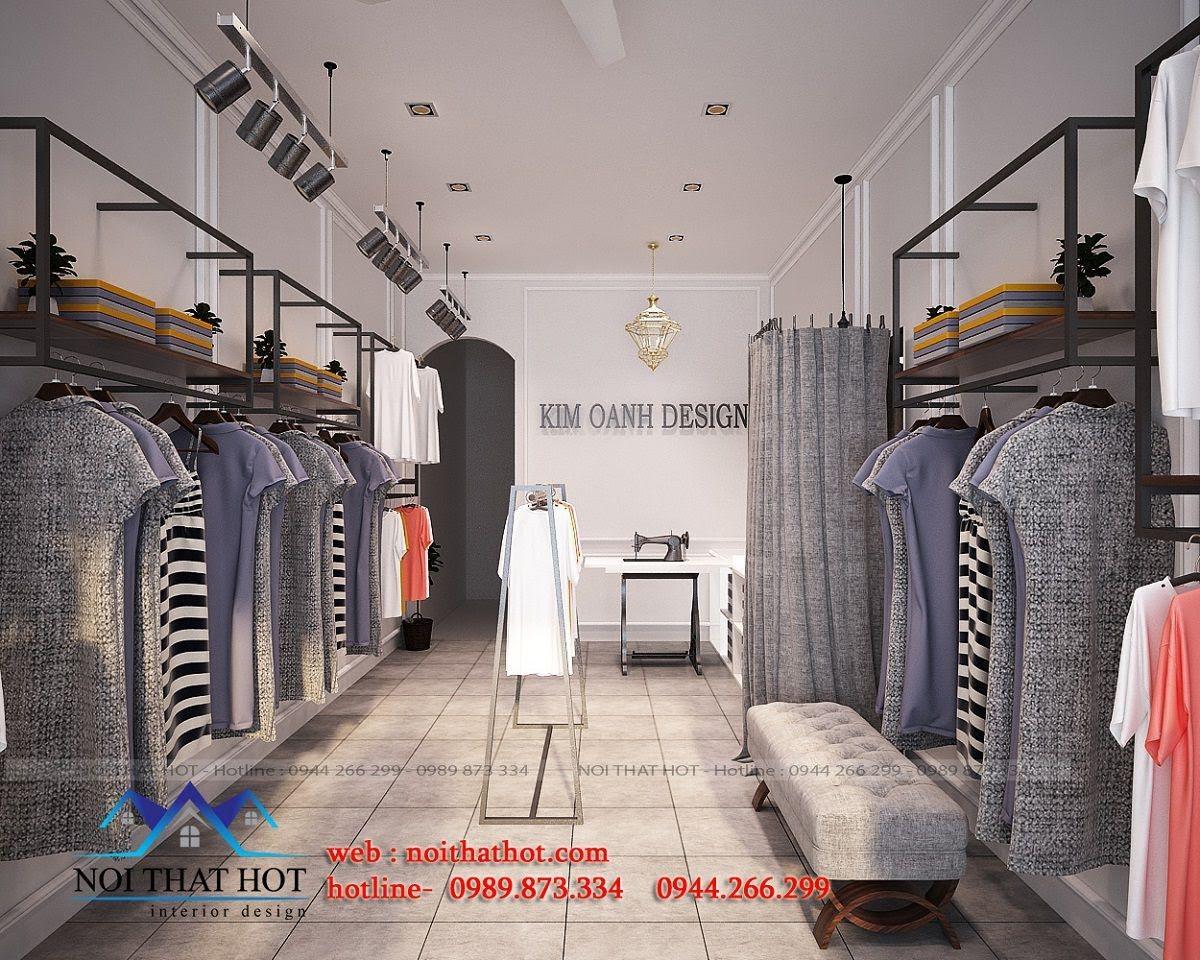 thiết kế shop thời trang may đo 3