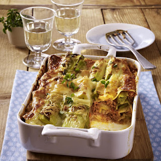 Beef and Leek Lasagna