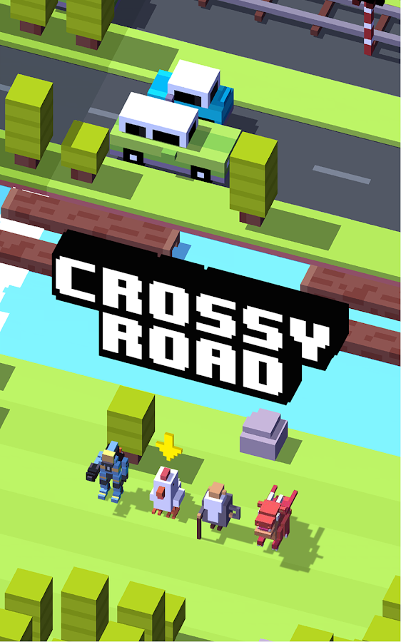 Crossy Road: captura de pantalla