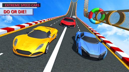 Télécharger Gratuit Mega Car Top Speed: Courses sur piste mod apk screenshots 4